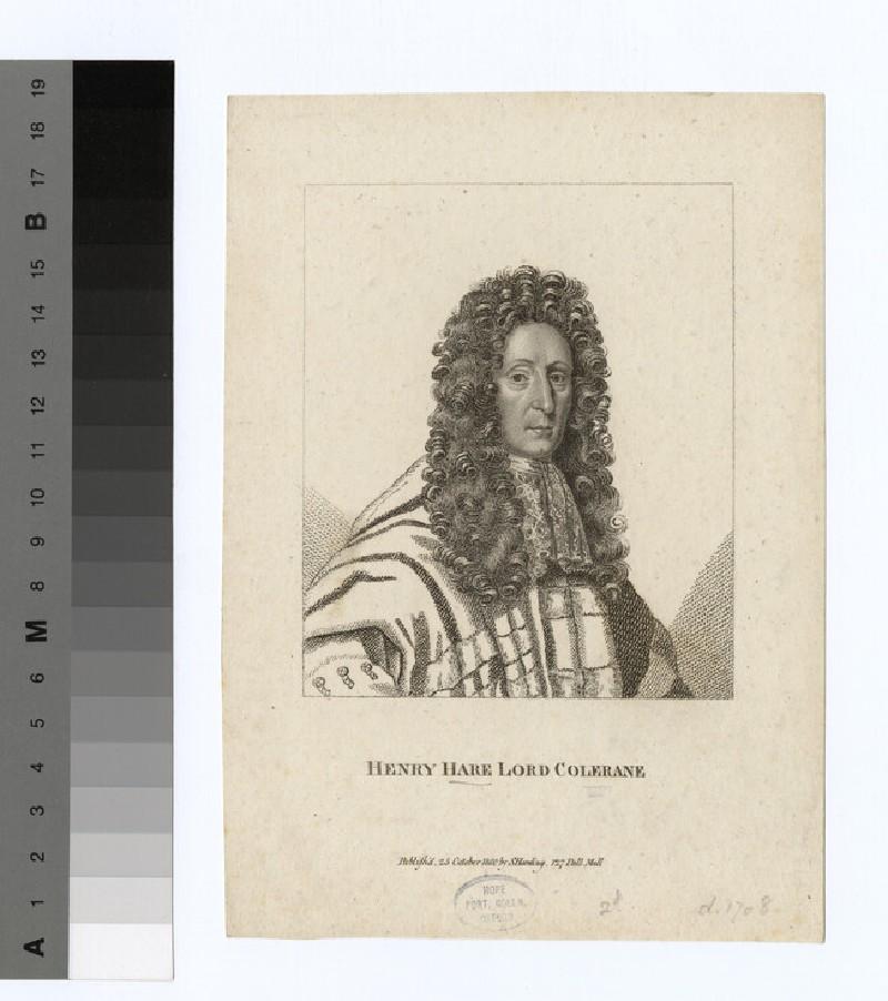 Portrait of lord Colreane