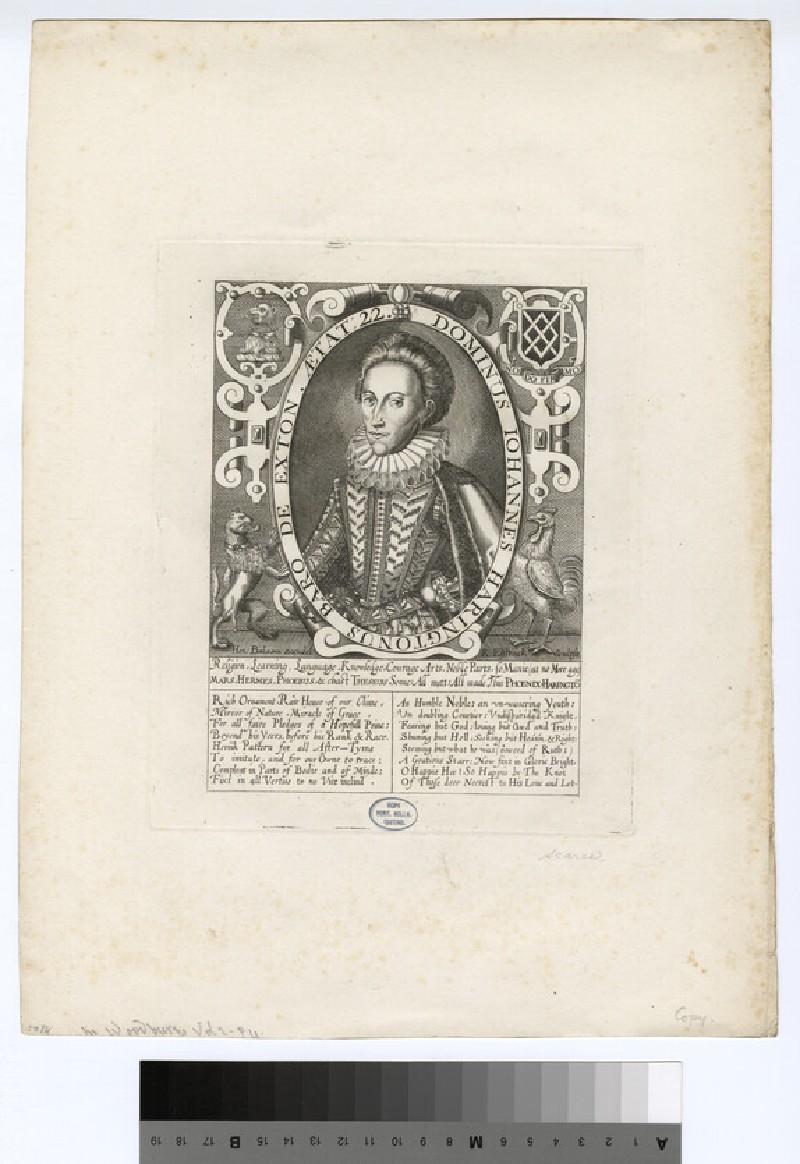 Portrait of Baron Exton (WAHP16079)