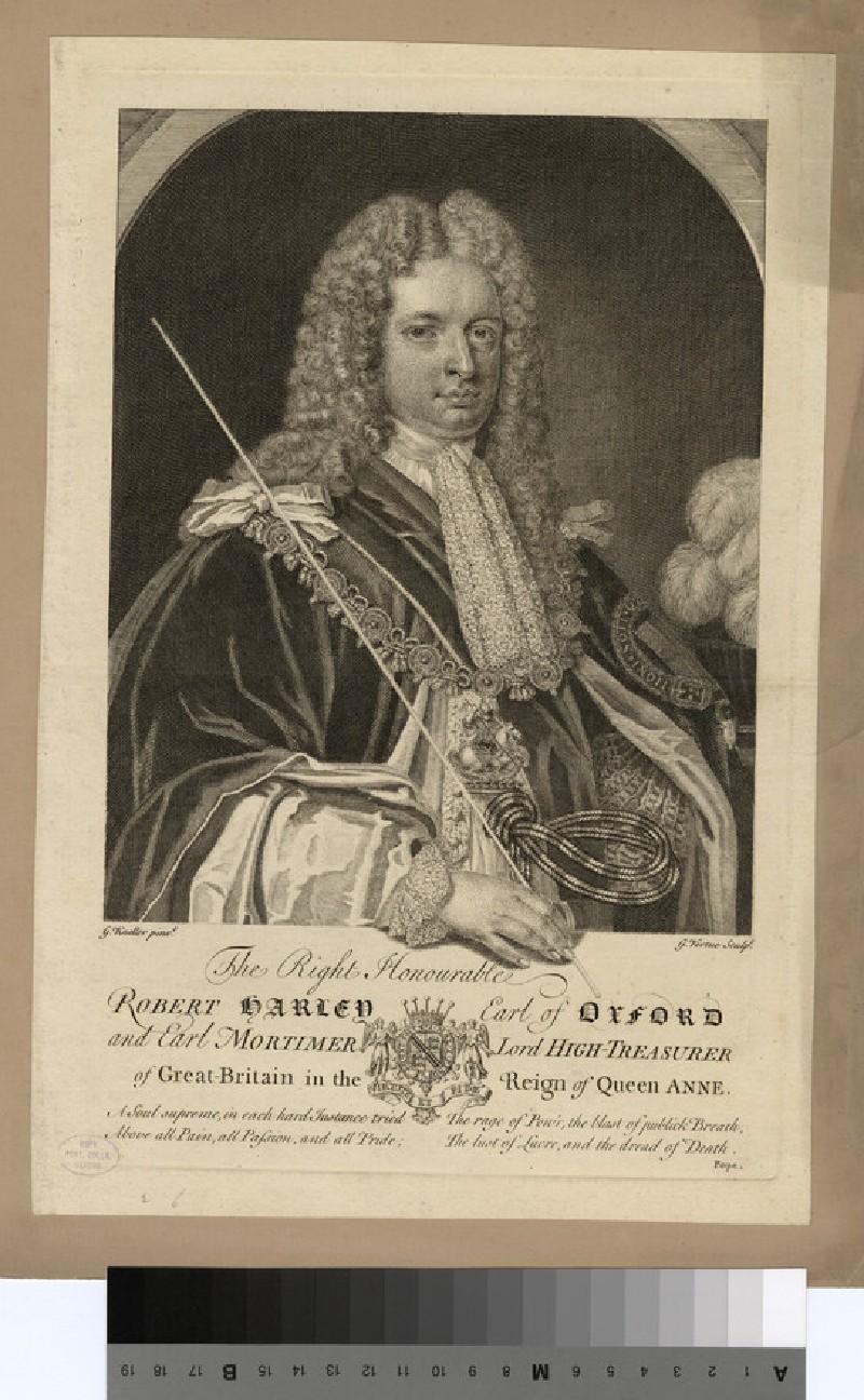 Portrait of Earl of Oxford