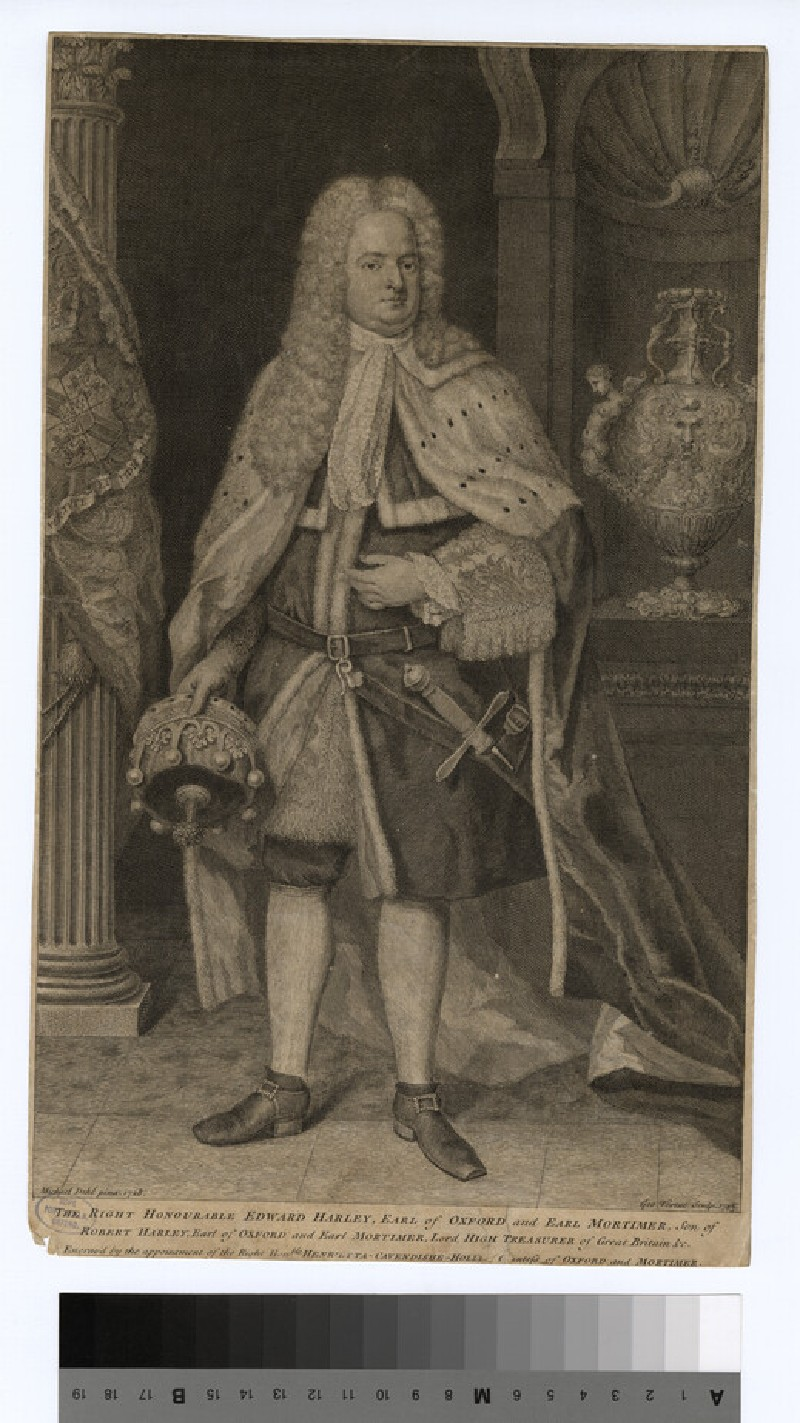 Portrait of Edward Harley, 2nd Earl of Oxford and Earl Mortimer