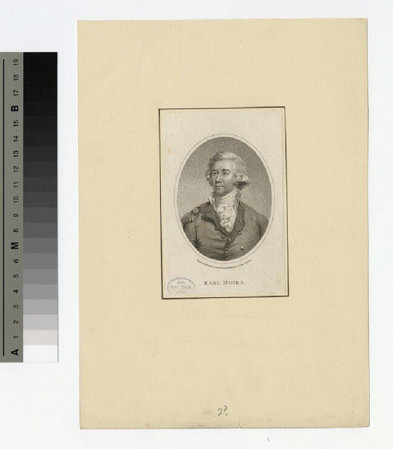Portrait of Earl Moira (WAHP16109)
