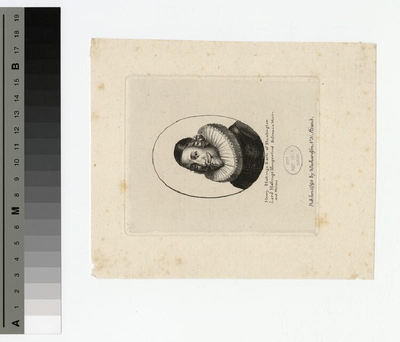 Portrait of Earl Huntingdon (WAHP16118)