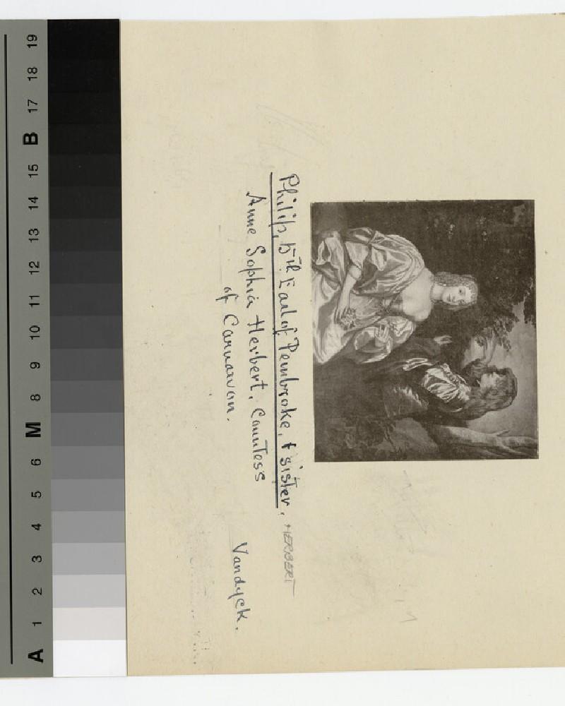 Portrait of Philip Herbert, 5th Earl of Pembroke, and his sister