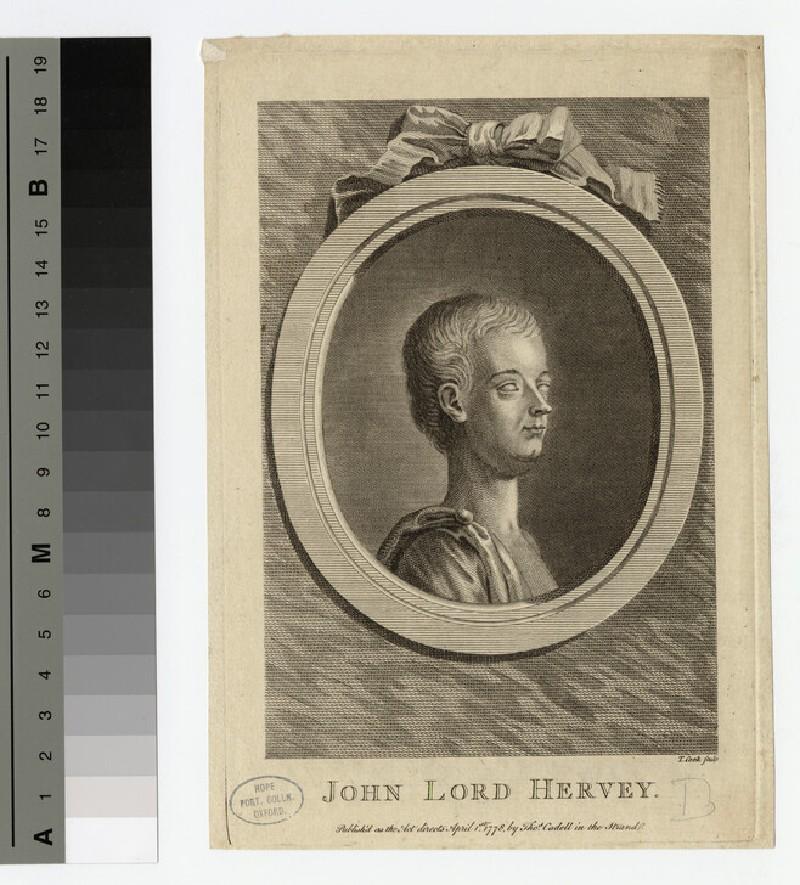 Portrait of Lord John Hervey (WAHP16192)