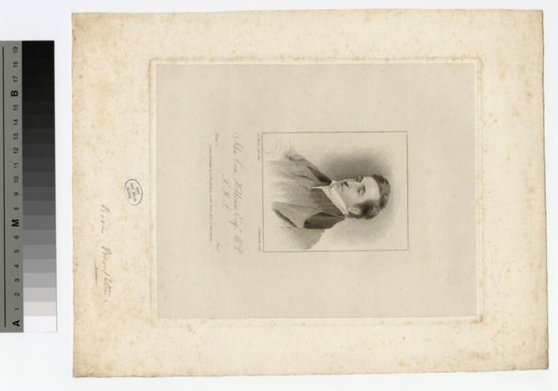 Portrait of J. C. Hobhouse (WAHP16202)