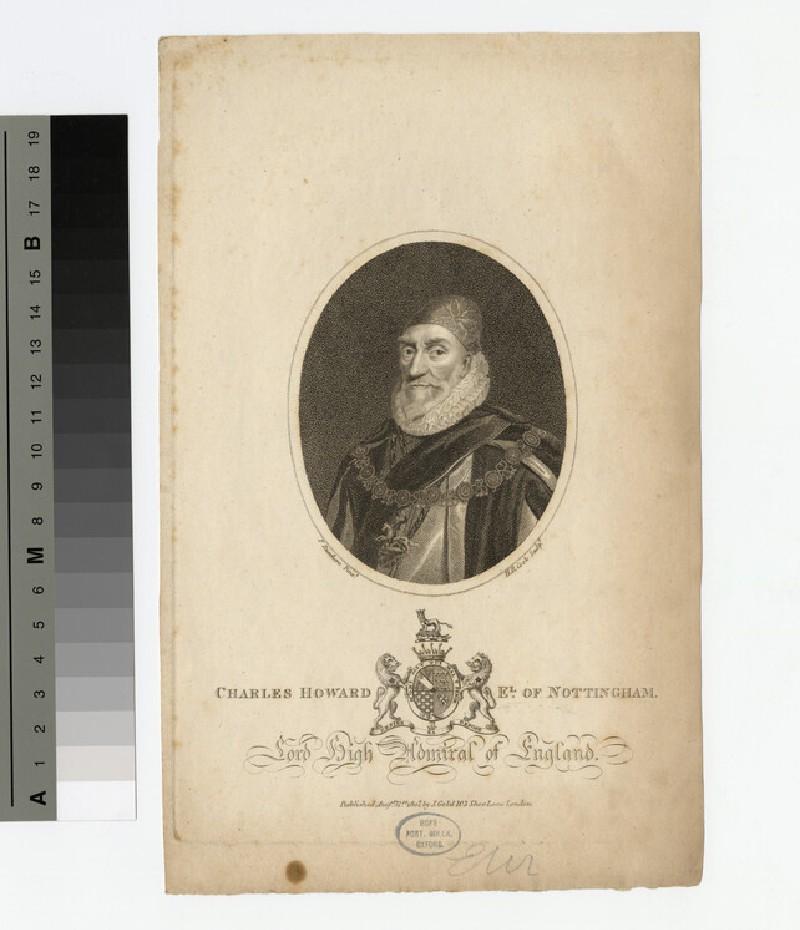 Portrait of Charles Howard, 1st Earl of Nottingham (WAHP16234)