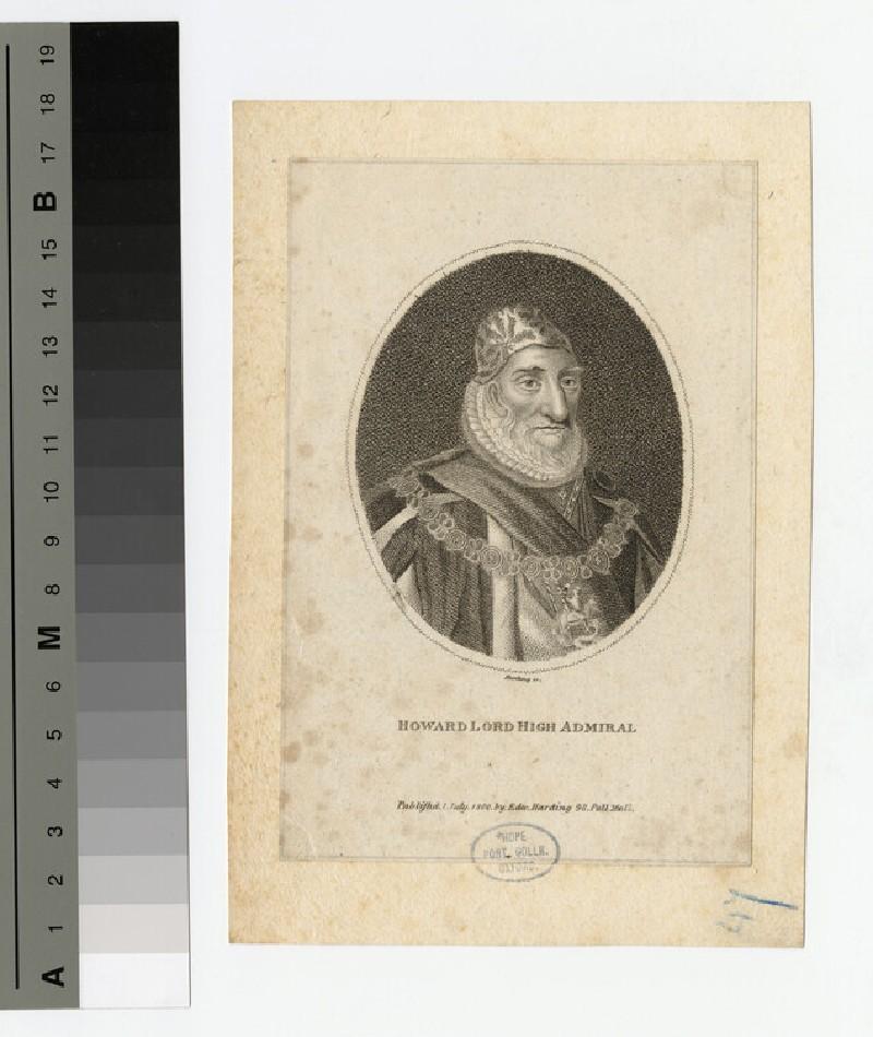 Portrait of Howard of Effingham (WAHP16236)