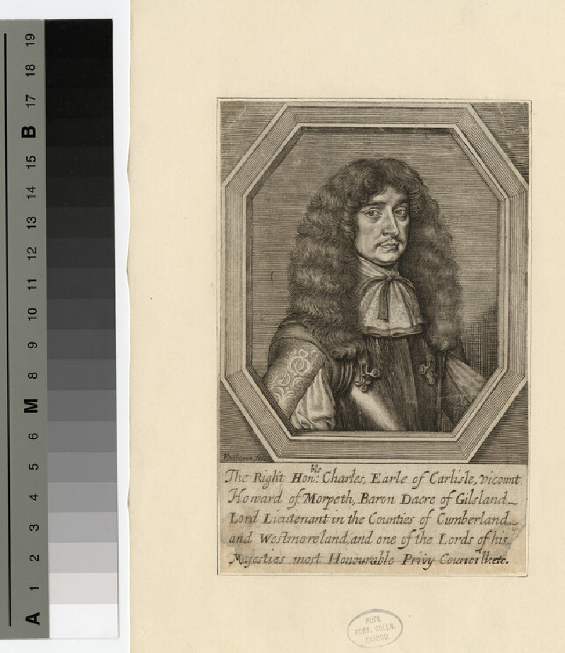 Portrait of 1st Earl Carlisle (WAHP16246)