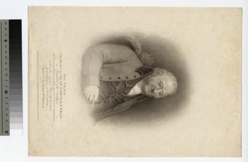 Portrait of Charles Howard, 11th Duke of Norfolk (WAHP16251)