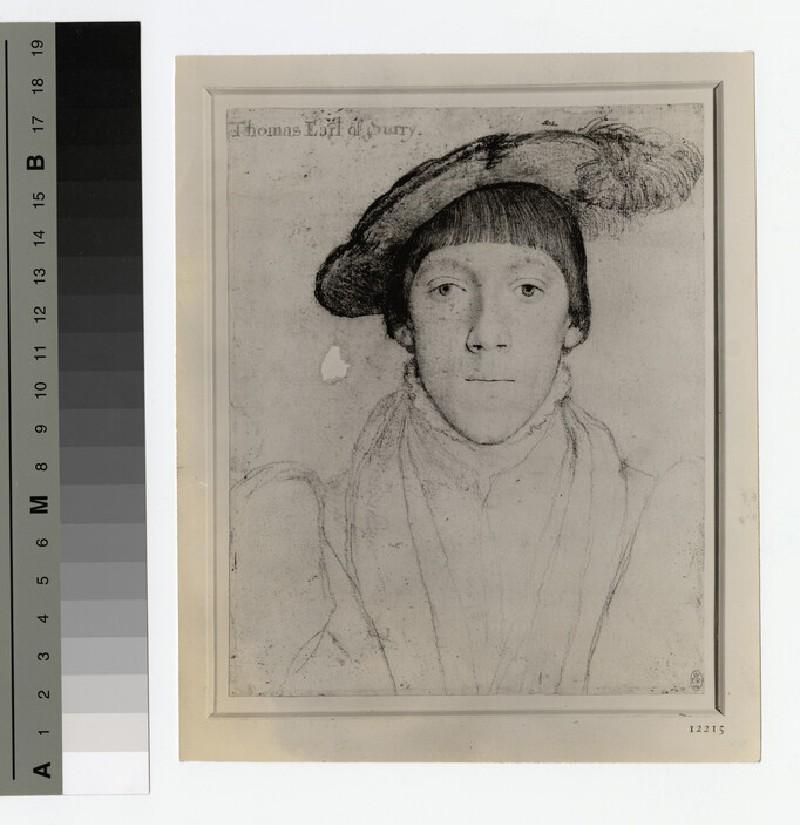 Portrait of Earl Surrey (WAHP16253)