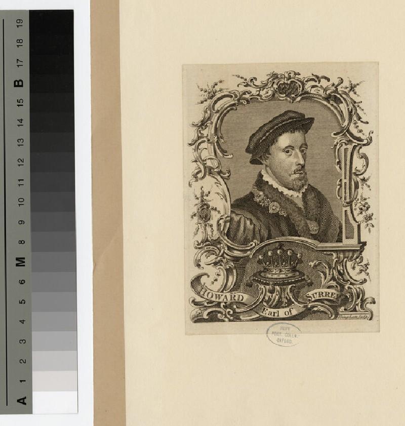 Portrait of Earl of Surrey (WAHP16270)
