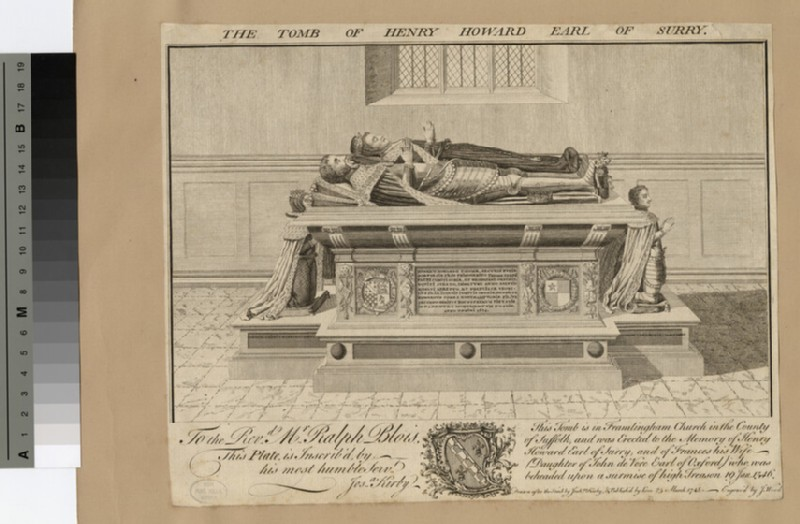 The Tomb of Henry Howard Earl of Surrey