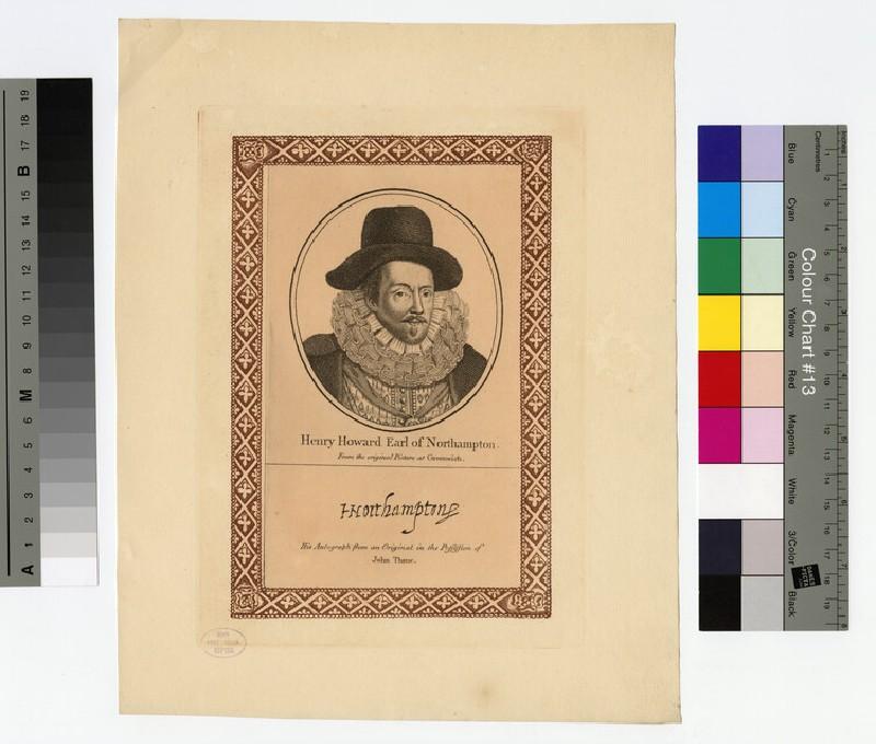 Northampton, Earl of (Howard) (WAHP16278.1)
