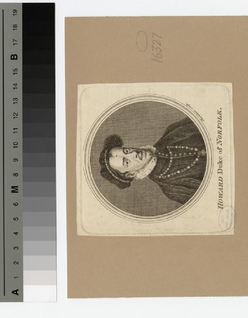 Portrait of Thomas Howard, 4th Duke of Norfolk (WAHP16327)