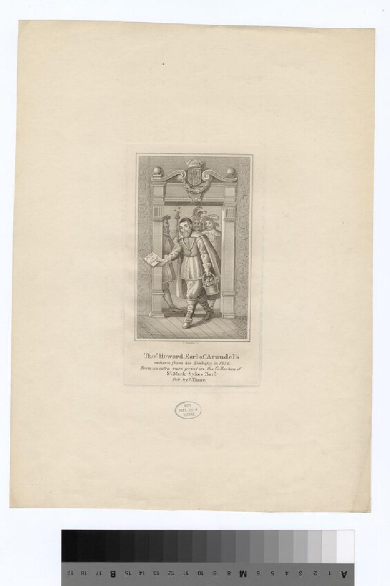 Portrait of Earl Arundel (WAHP16345)