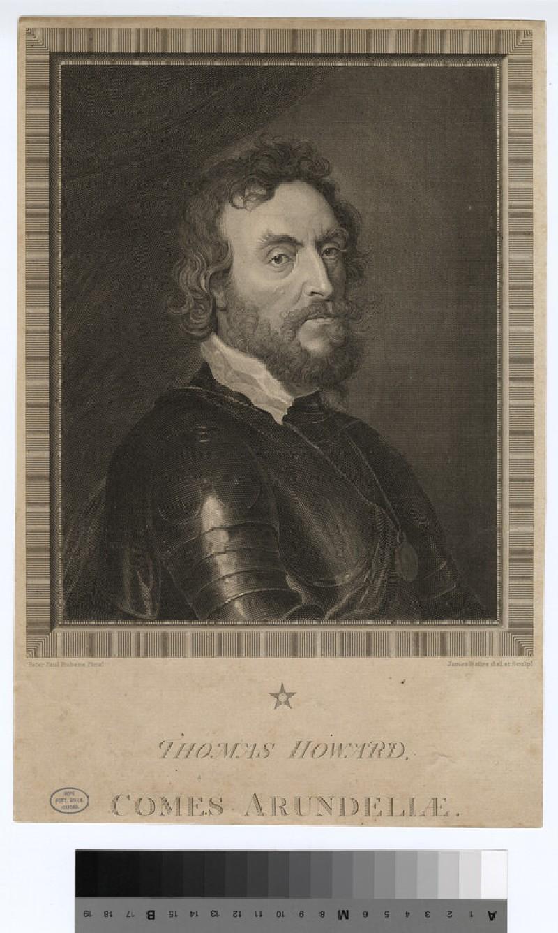 Portrait of Thomas Howard, 14th earl of Arundel
