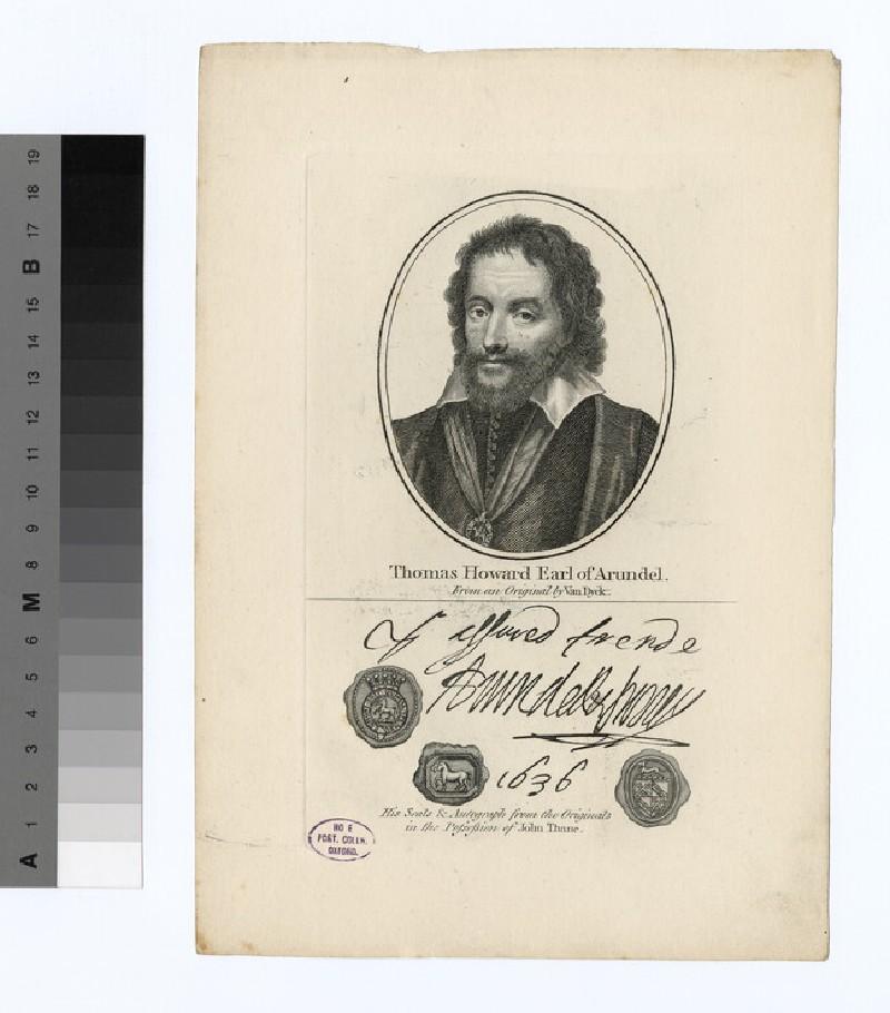 Portrait of Earl Arundel