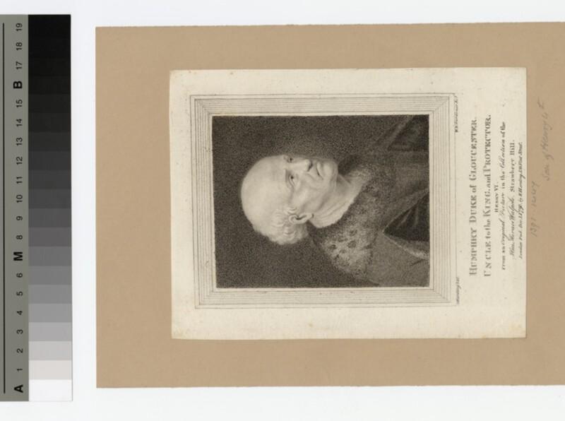 Portrait of Duke Humphry