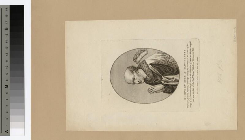 Portrait of Duke Humphrey (WAHP16376)
