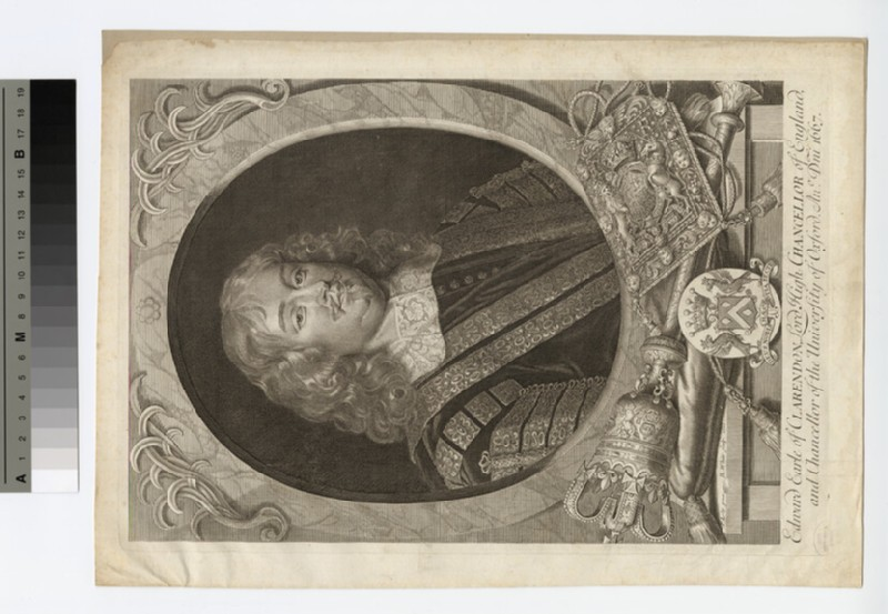 Portrait of Edward Hyde, 1st Earl of Clarendon (WAHP16385)