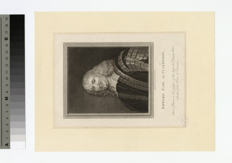 Portrait of Edward Hyde, 1st Earl of Clarendon (WAHP16390)