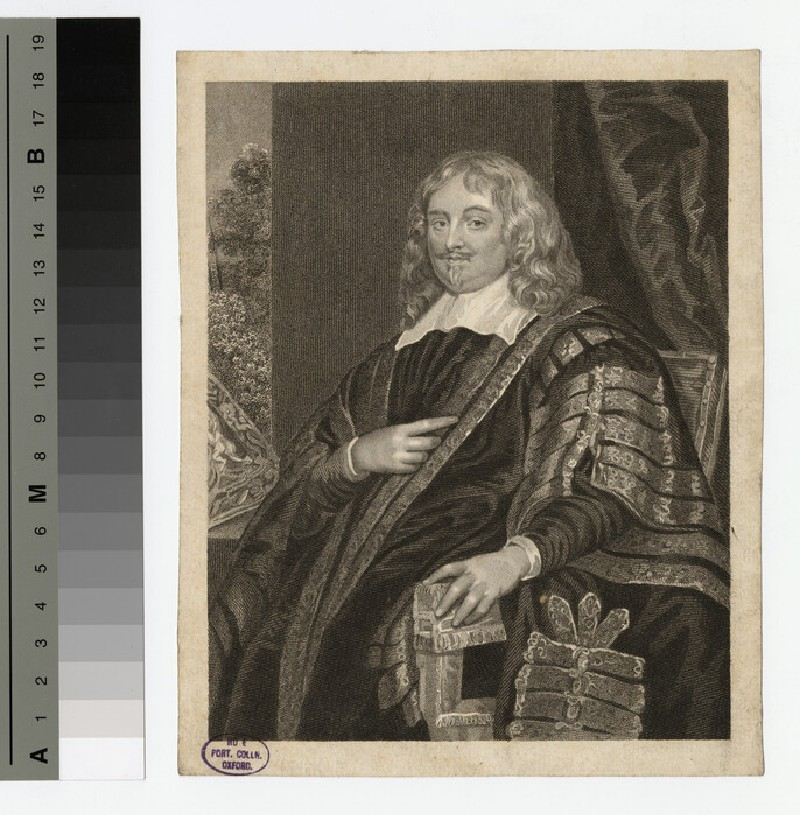 Portrait of Edward Hyde, 1st Earl of Clarendon (WAHP16392)