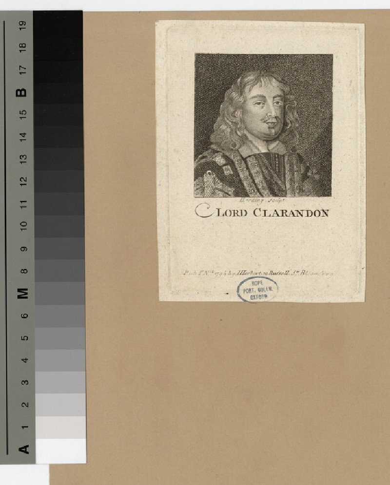 Portrait of Edward Hyde, 1st Earl of Clarendon (WAHP16393)