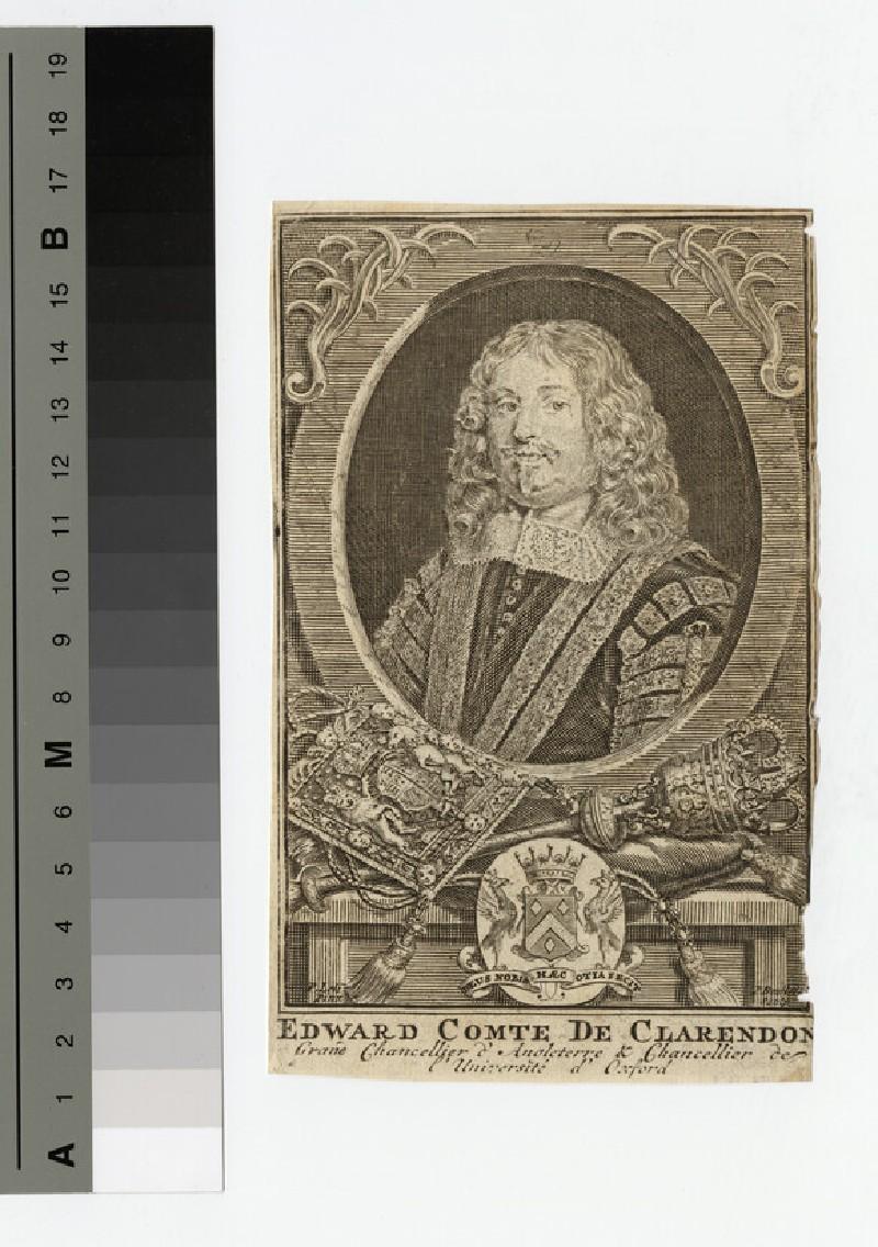 Portrait of Earl Clarendon (WAHP16394)