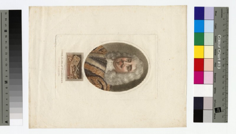 Portrait of Edward Hyde, 1st Earl of Clarendon (WAHP16409)
