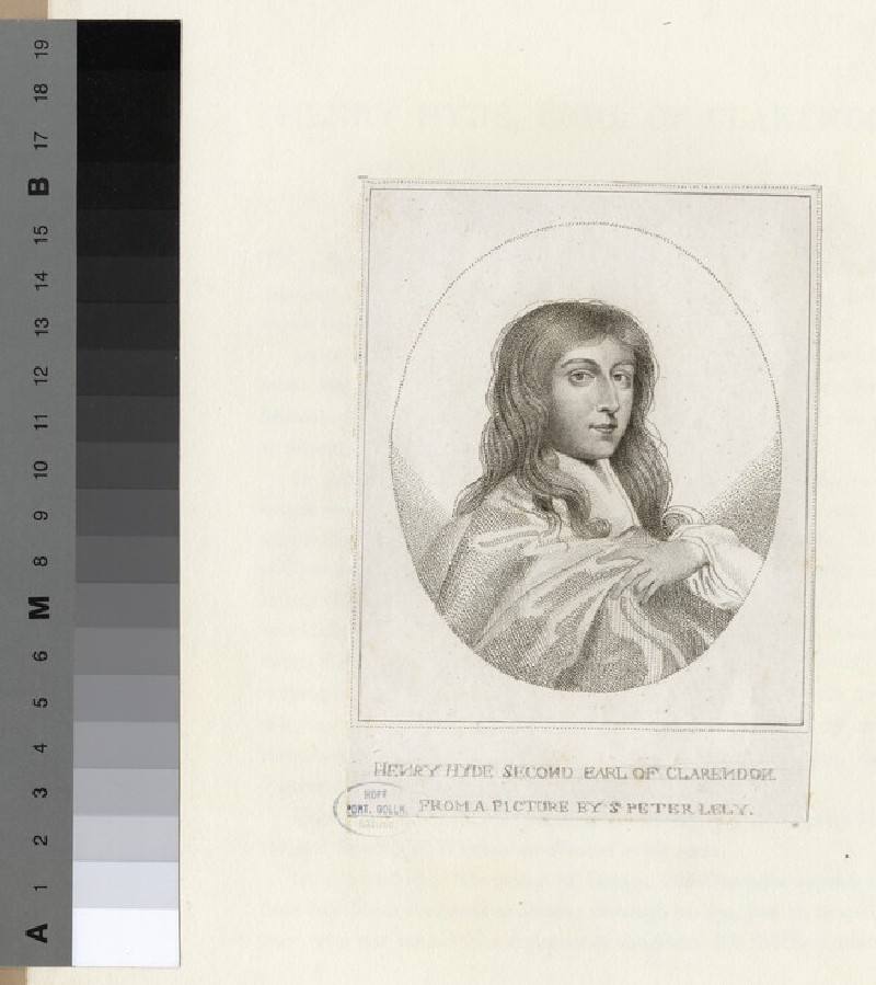 Portrait of Henry Hyde, 2nd Earl of Clarendon (WAHP16414)