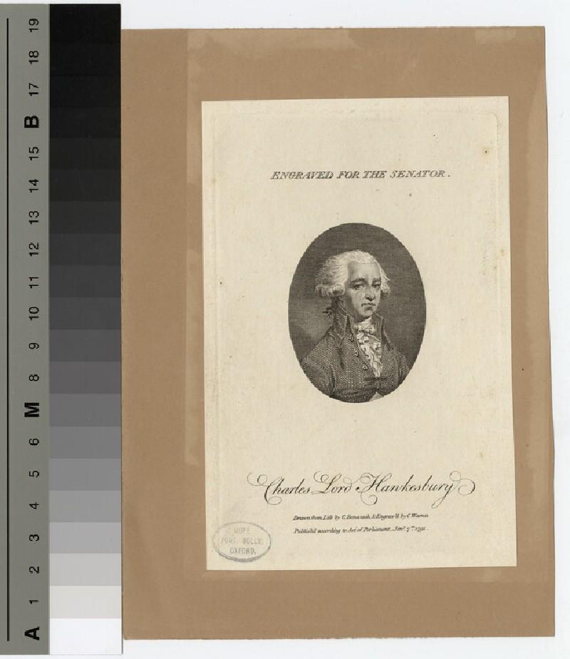 Portrait of Lord Hawkesbury