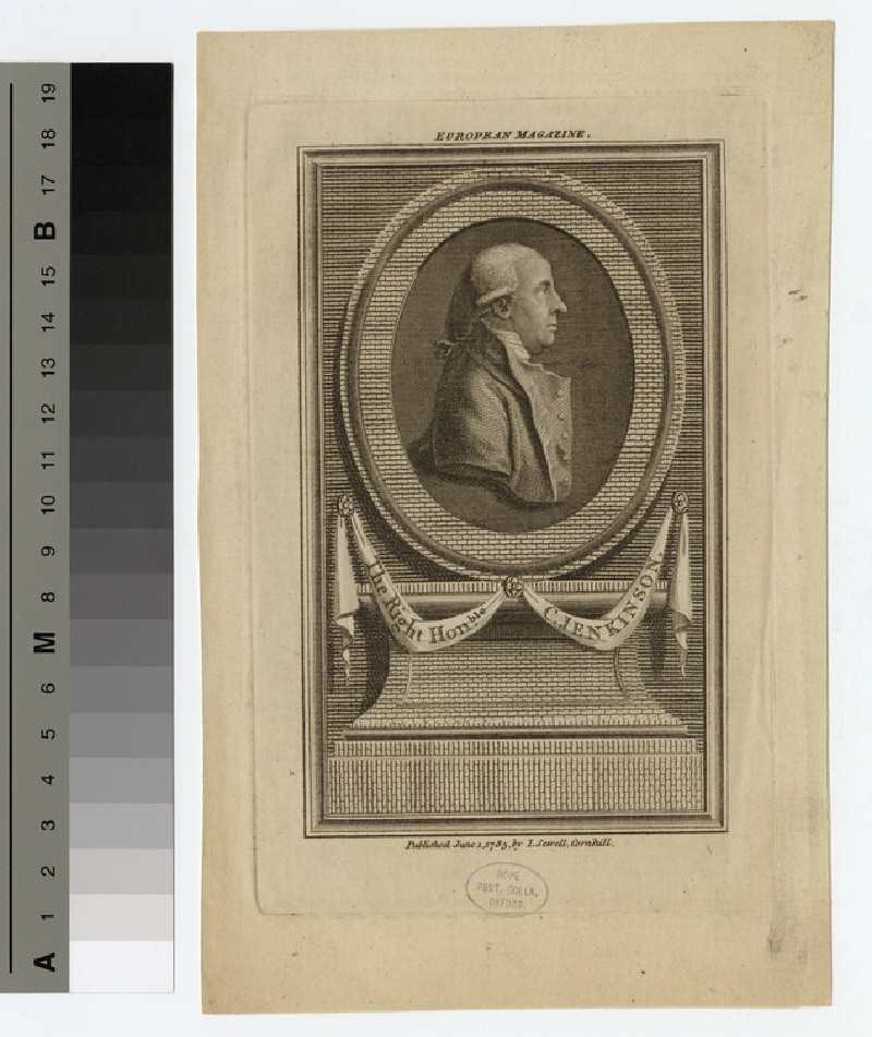 Portrait of C. Jenkinson (WAHP16430)