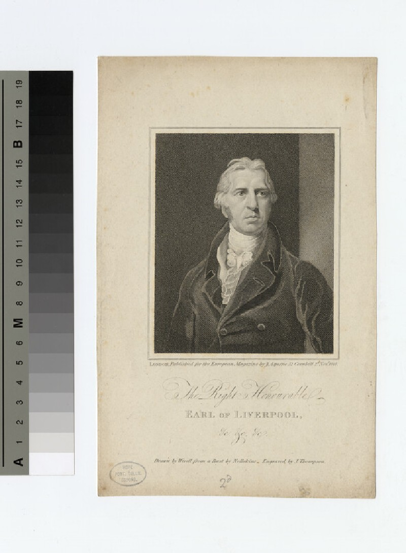 Portrait of Charles Jenkinson, 1st Earl of Liverpool