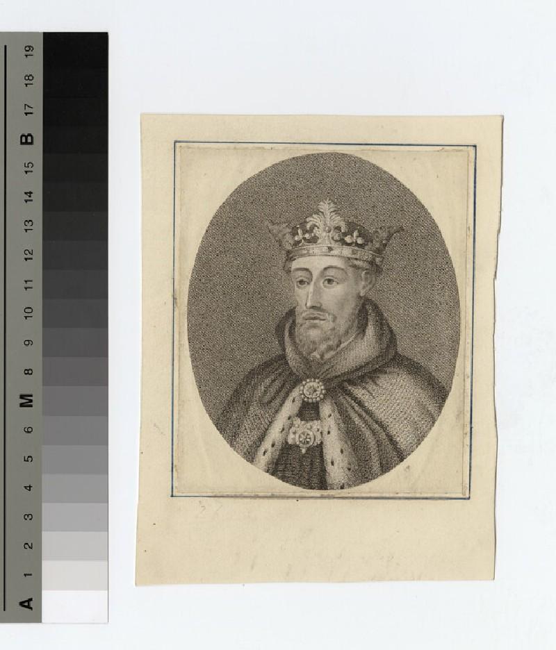 Portrait of John of Gaunt (WAHP16458)