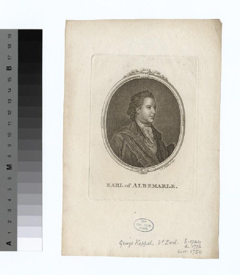 Portrait of George Keppel, 3rd Earl of Albemarle (WAHP16479)
