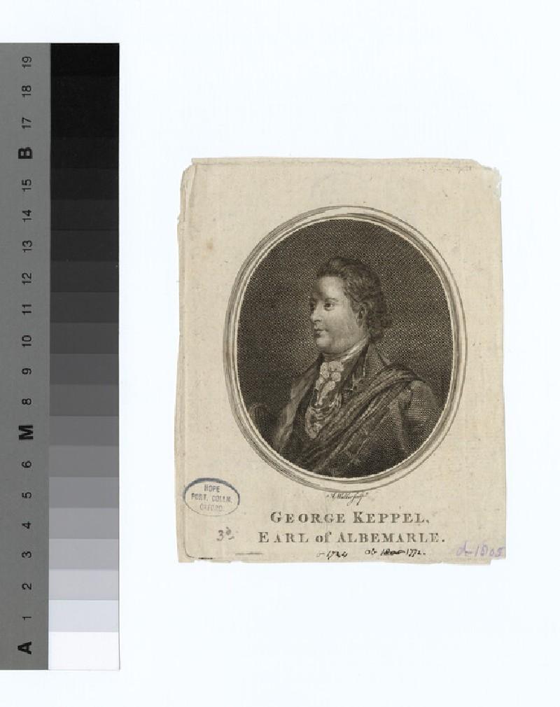 Portrait of George Keppel, 3rd Earl of Albemarle