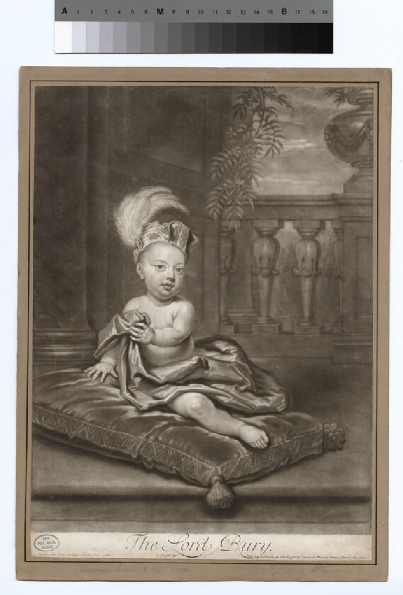 Portrait of Lord Bury