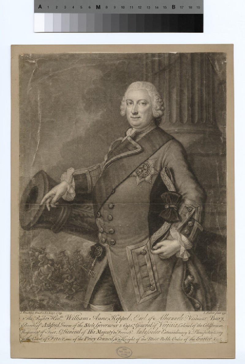 Portrait of George Keppel, 3rd Earl of Albemarle