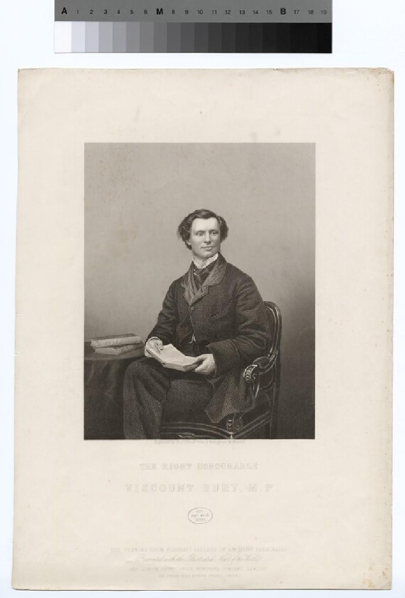 Portrait of VisCount Bury