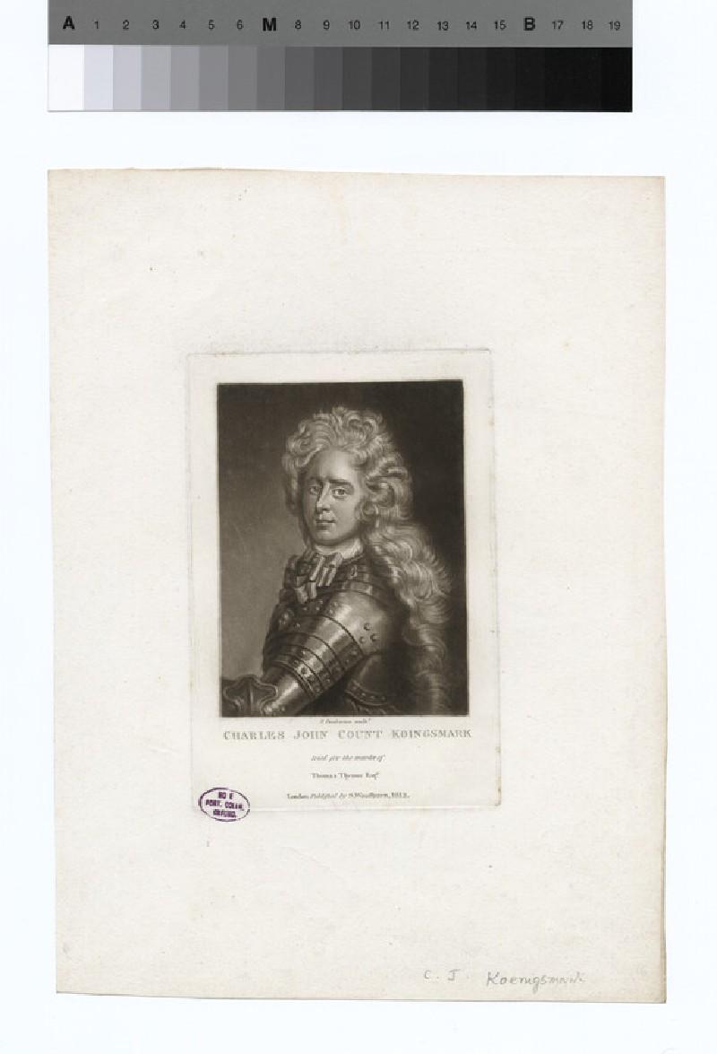 Portrait of Count Konigsmark (WAHP16488)