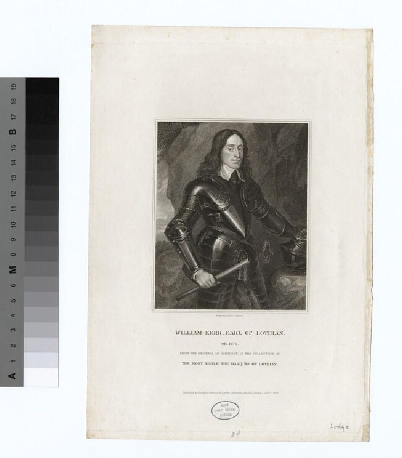 Portrait of William Kerr, Earl of Lothian