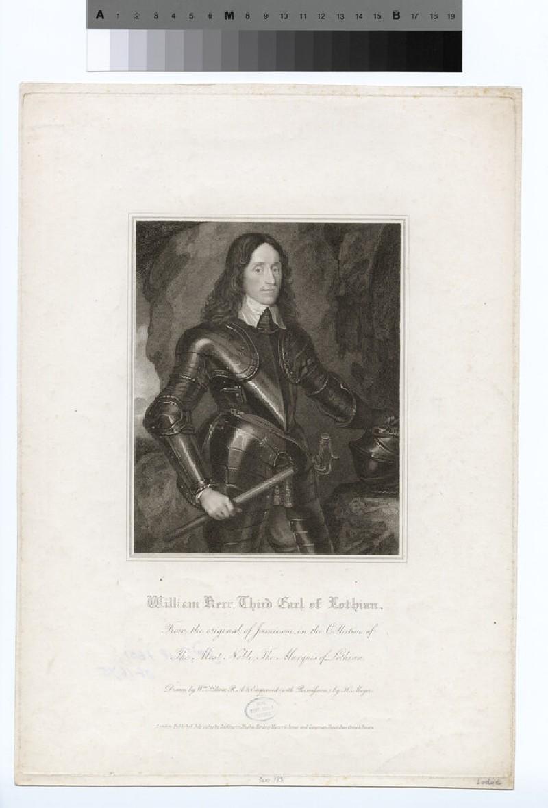 Portrait of William Kerr, 3rd Earl of Lothian (WAHP16504)