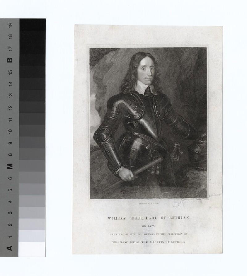 Portrait of William Kerr, 3rd Earl of Lothian