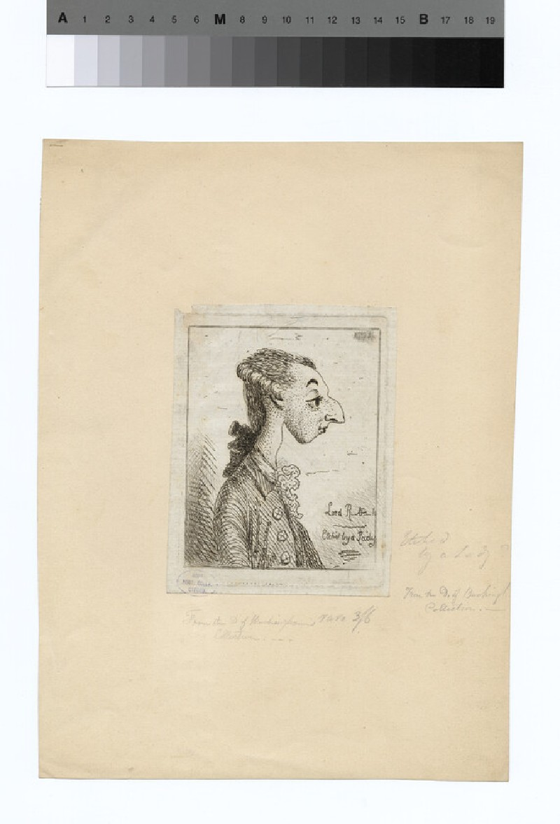 Portrait of John Ker, 3rd Duke of Roxburghe (WAHP16510)