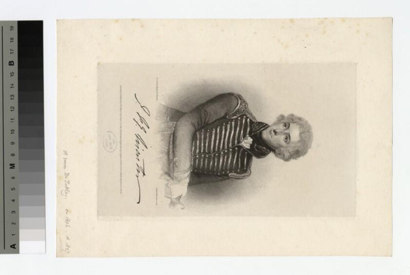 Portrait of Baron de Tabley (WAHP16547)