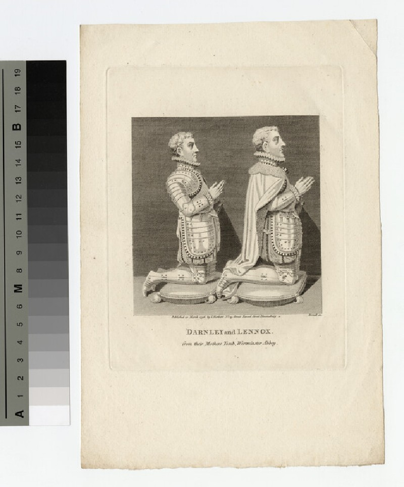Portrait of Darnley and Lennox