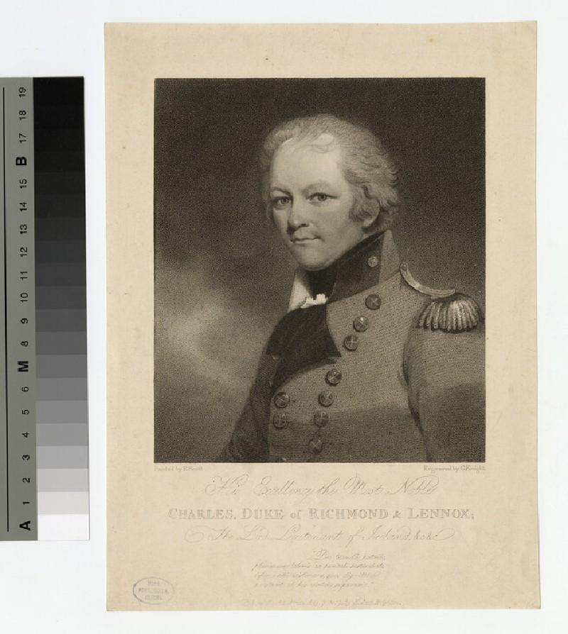 Portrait of Richmond and Lennox