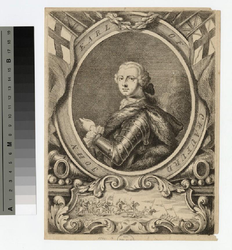 Portrait of Earl Craufurd
