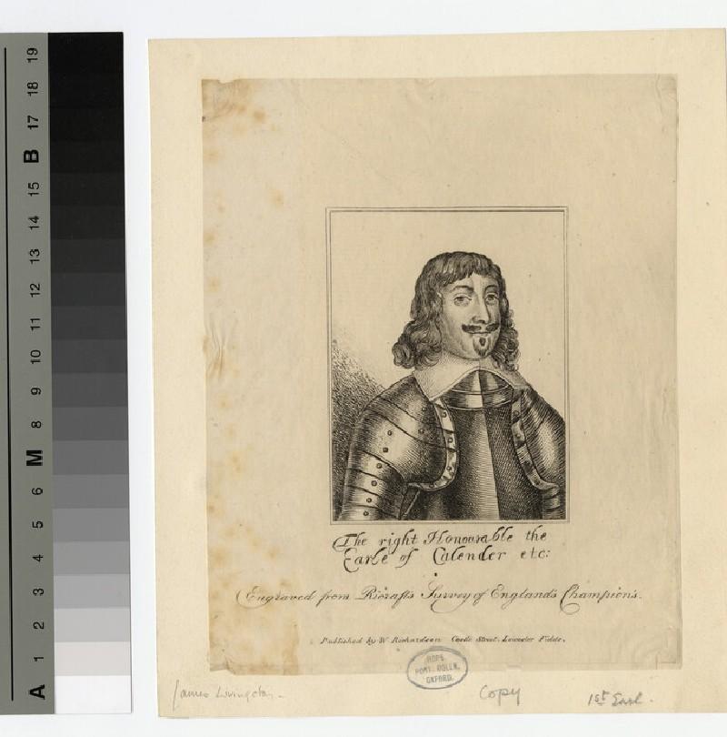 Portrait of Earl Calender (WAHP16596)