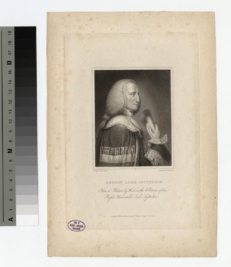 Portrait of Lord Lyttelton (WAHP16623)